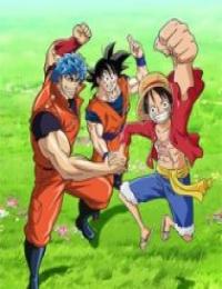 One Piece x Toriko x Dragon Ball Z Crossover